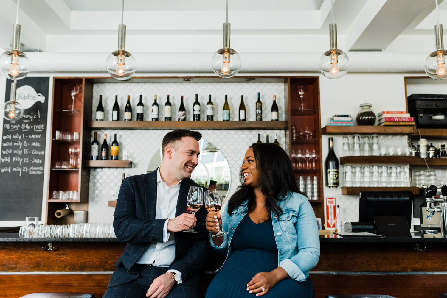 engagement session obladee wine bar