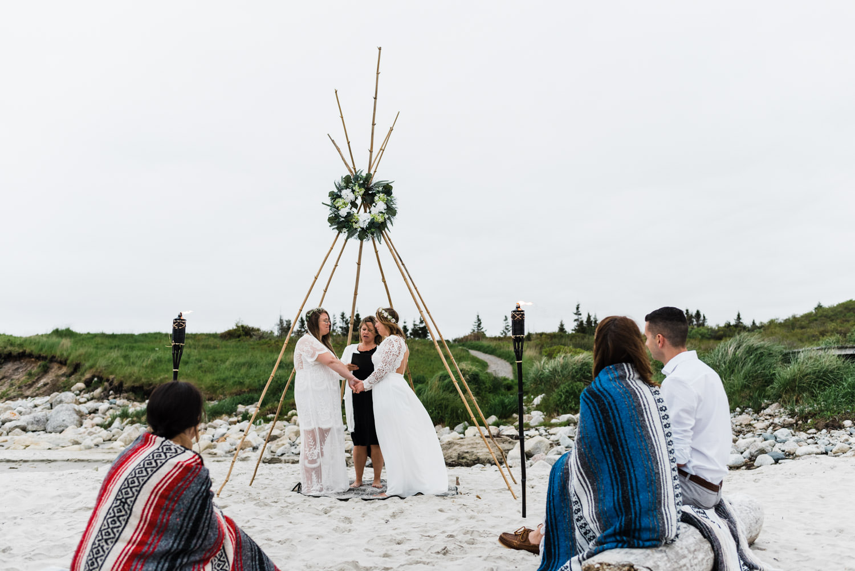 crystal crescent beach wedding nova scotia