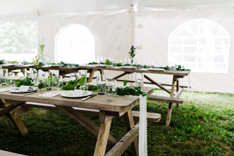 mersey river chalets wedding