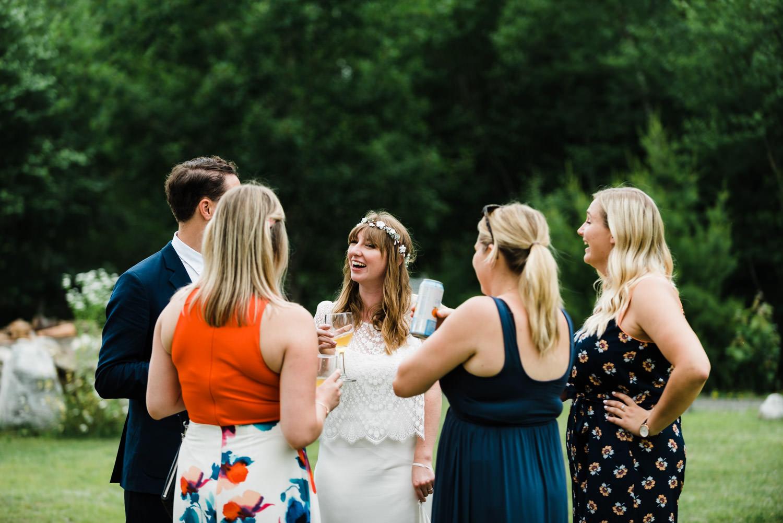 nova scotia outdoor wedding