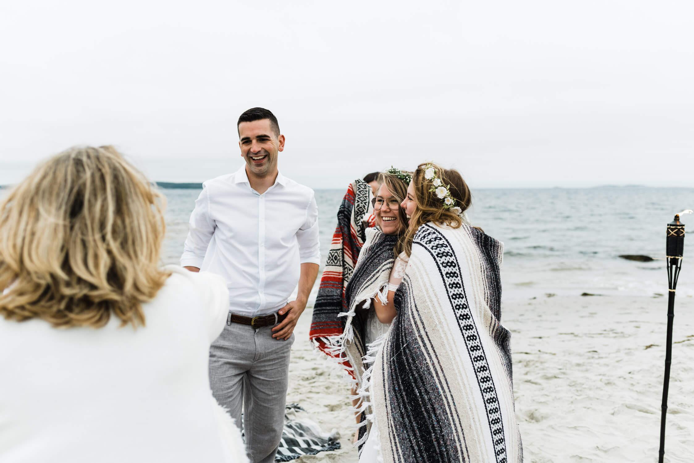 nova scotia beach wedding
