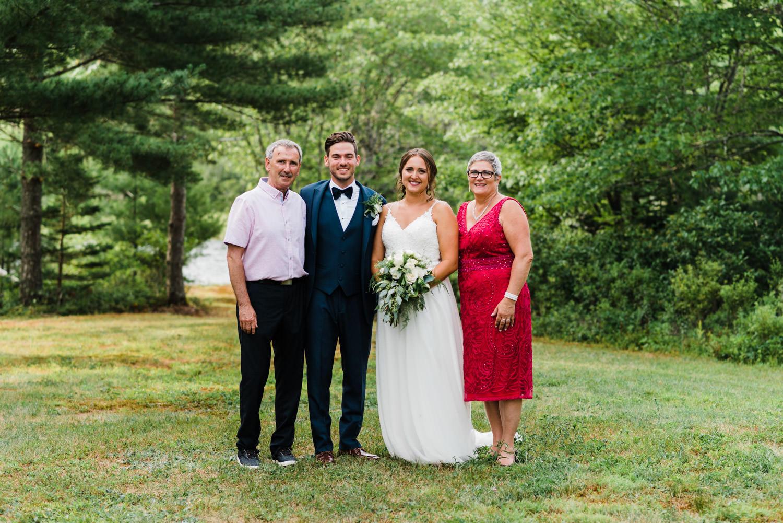 family formals nova scotia wedding